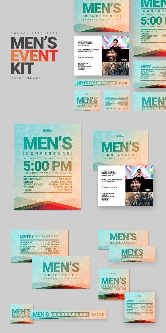 Menu0027s Church Event Kit Invitation Templates Invitation - event invitation templates