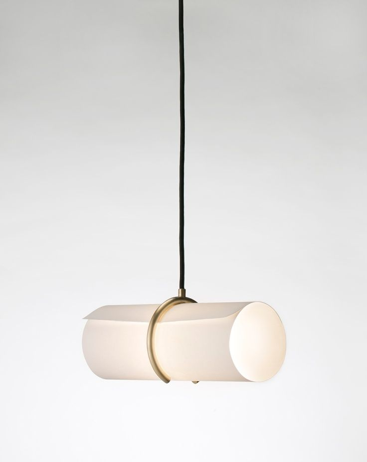 To Roll up and Fasten pendant L& by Yoshiyuki Hibino have a look into this & To Roll up and Fasten: pendant Lamp by Yoshiyuki Hibino have a look ...