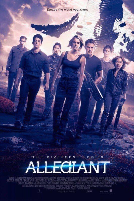 Divergent 3 (2016) [+] | Divergente film, Série divergente, Divergent