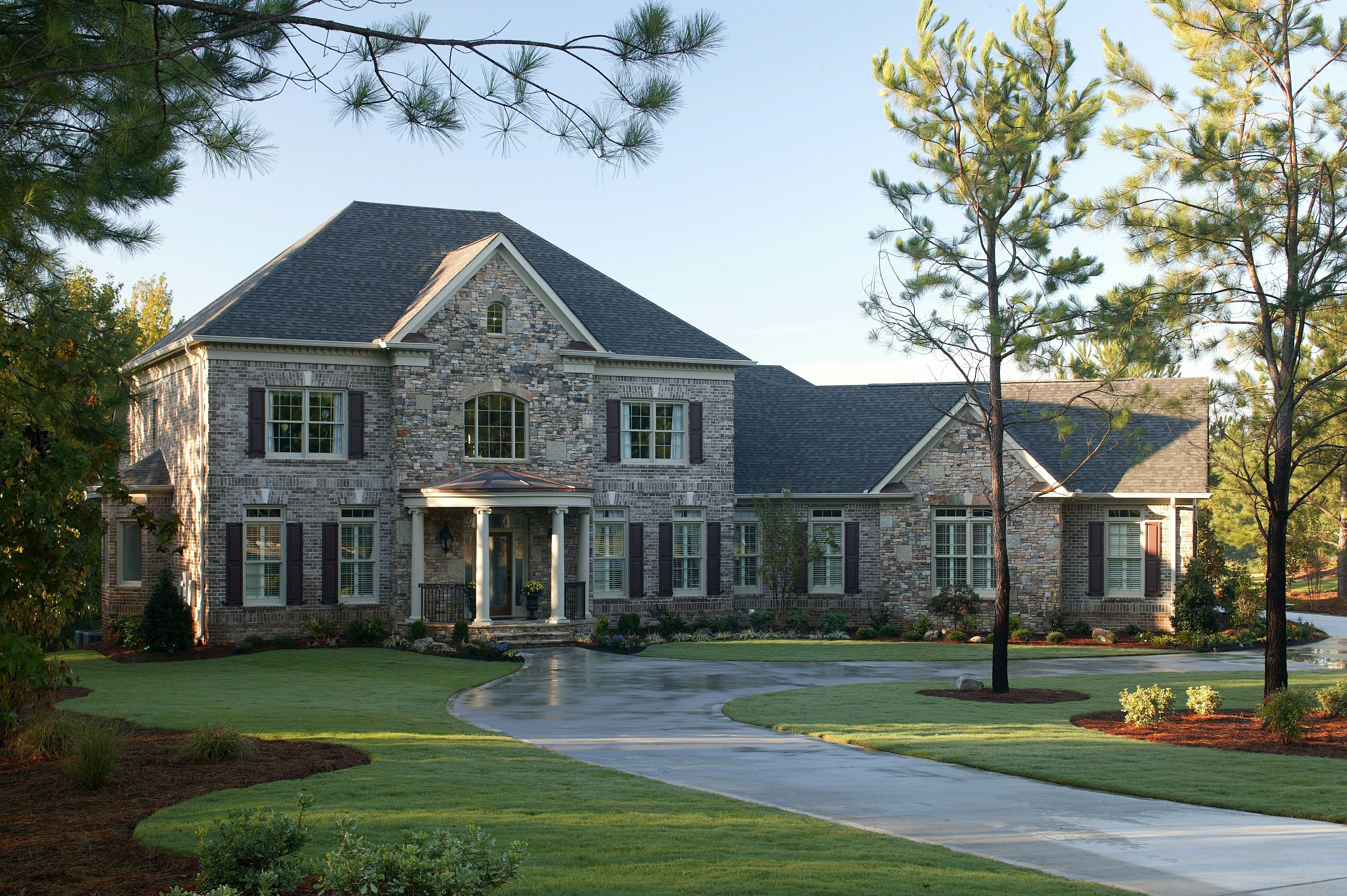 Roof Repair Cost Estimates Flat Rubber Tile Slate Metal More Front View Of House Roof Repair Cost Roof Architecture
