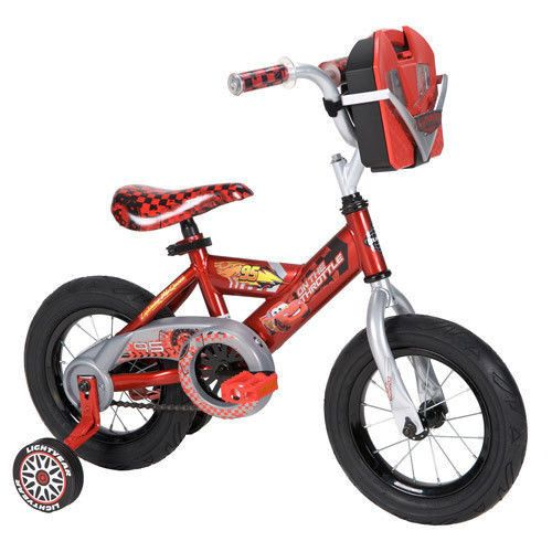 "BOYS 12"" Bike Cars Toddler Bike Huffy Disney Cars Boys Bike w Tool Kit BIKE BOYS"