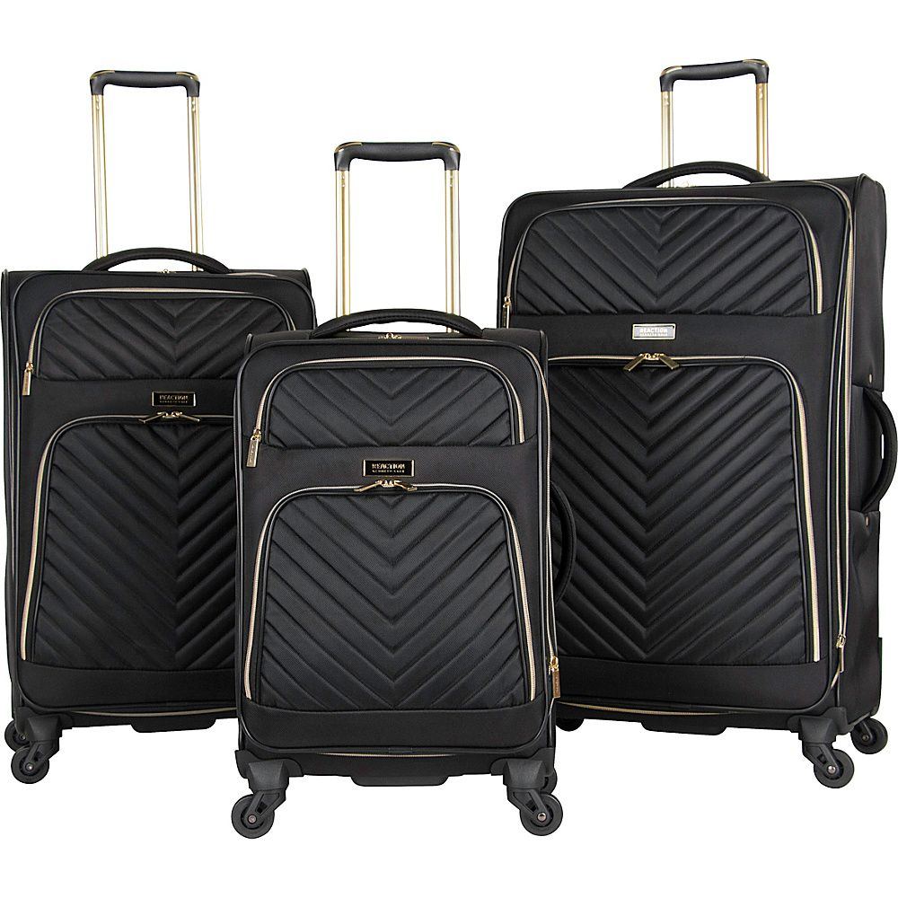 1e8fa73ec Chelsea 3 Piece Expandable Quilted Spinner Luggage Set in 2019 ...