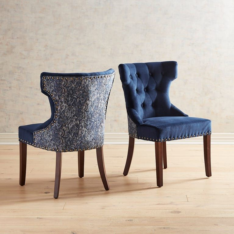 Hourglass Indigo Dining Chair in 2020 Teal dining chairs