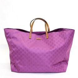 62ba895f21d7 New Authentic GUCCI GG Guccissima Nylon XL Tote Bag Handbag, 286198 ...