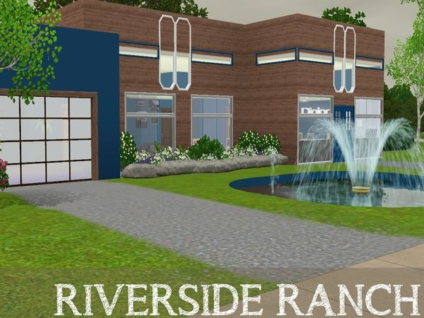 Riverview Ranch by GraceySims - Sims 3 Downloads CC Caboodle