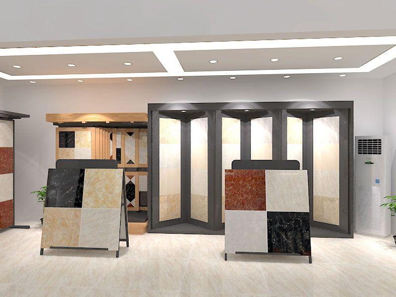 Readymade Shop Interior Design Tiles Showroom 4