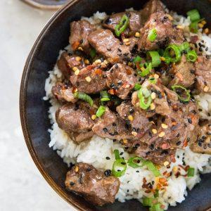 Pressure Cooker Korean Beef Bulgogi - The Roasted Root ...