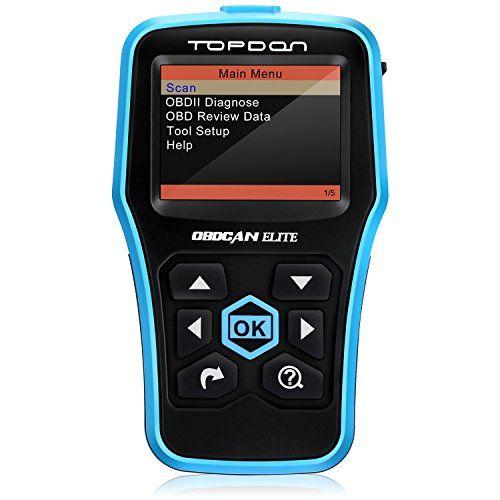 Car Code Reader,Topdon Car Computer Diagnostic OBD2