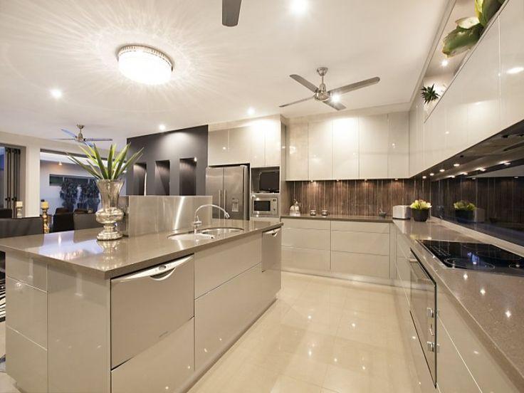 Kitchen Design Ideas Modern Open Plan Kitchen Design Using Tiles Kitchen Photo 8796993 The Post Modern Kitchen Open Plan Kitchen Design Open Kitchen Design