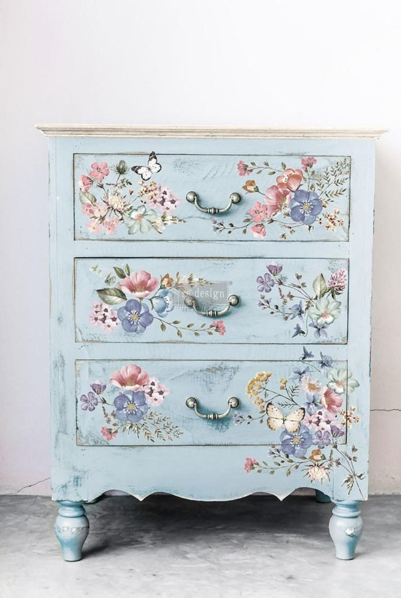 Furniture Transfer Rub On Transfer Redesign With Prima Etsy Furniture Appliques Shabby Chic Furniture Diy Furniture