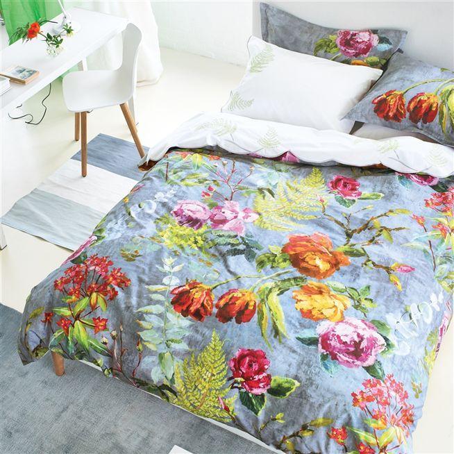 Tulipani Graphite Bed Linen Designers Guild Beige Bed Linen Bed Linen Design Bed Linens Luxury