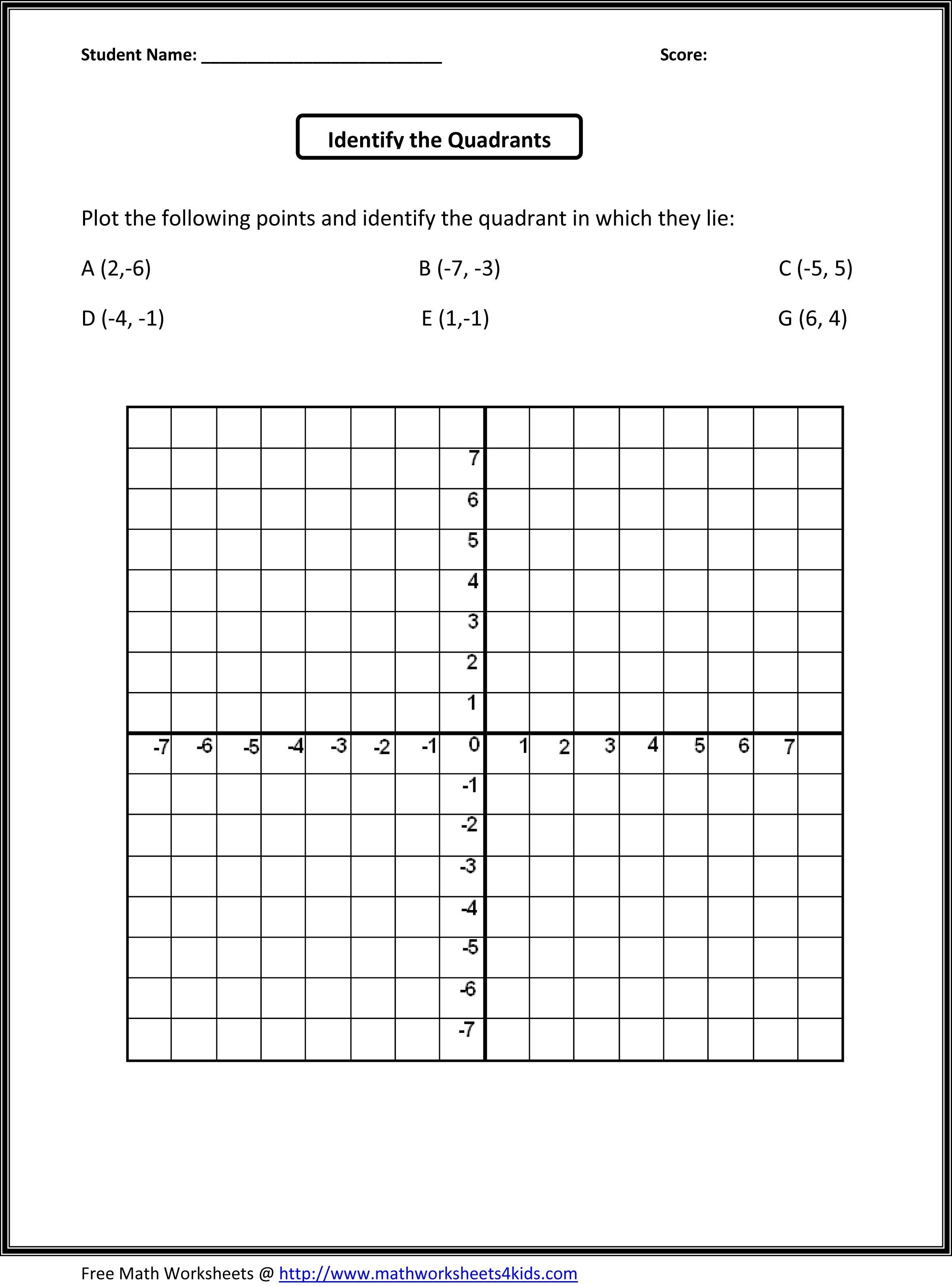 Grade 5 Decimal Worksheet