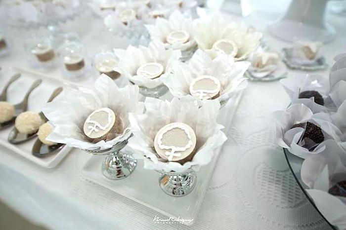 for elegant dessert table ideas dont miss this white baptism dessert table at karas party ideas