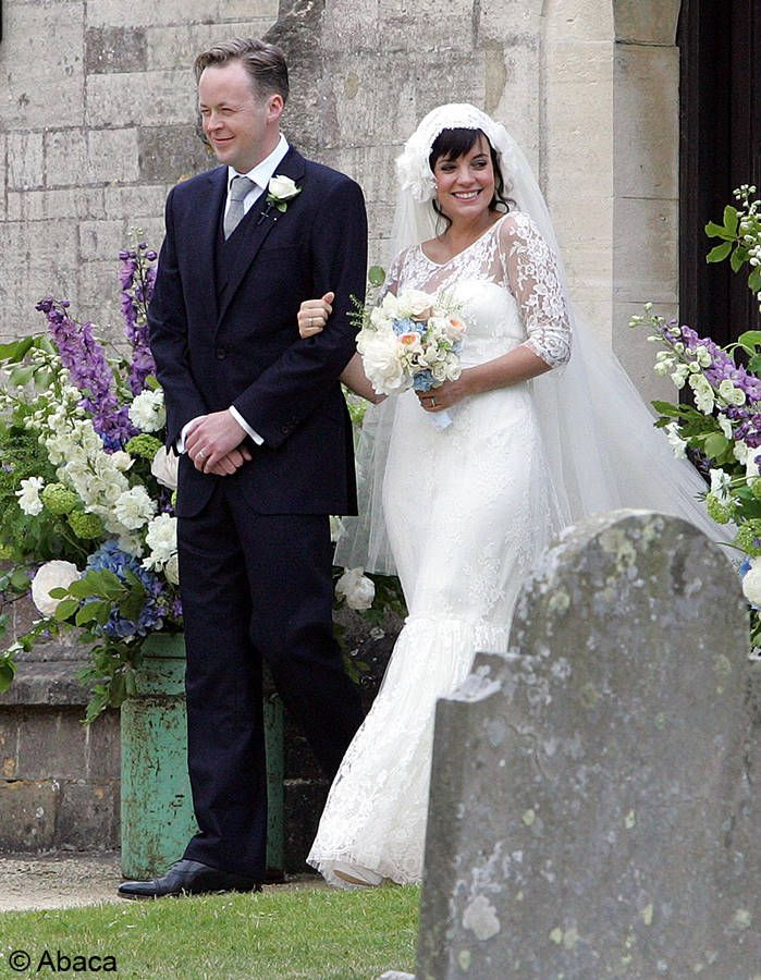 le mariage de Lily Allen et Sam Cooper Star wedding