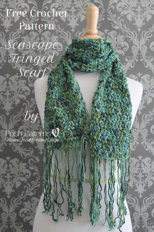 Free Crochet Scarf Pattern | Pinterest