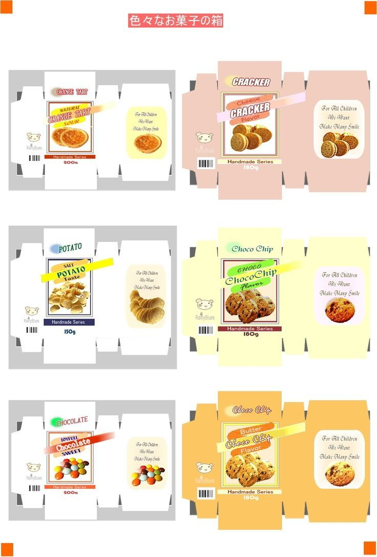 Dollhouse Miniature Printables Food Boxes Food Printables Miniature Printables Doll Food