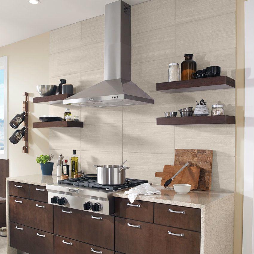 Floating Shelves - KraftMaid | Custom kitchen remodel ...
