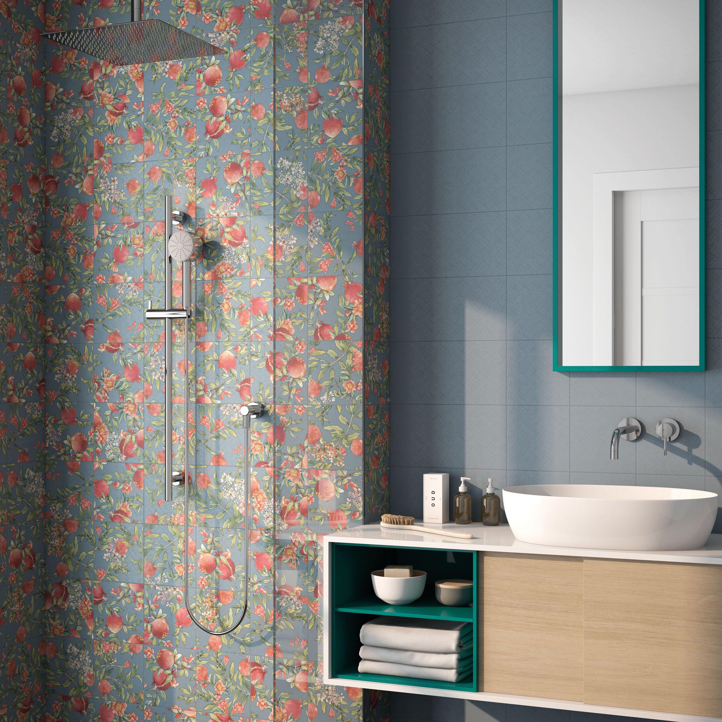 Wallpaper Fruits Badezimmerboden Badezimmer Design Badezimmer
