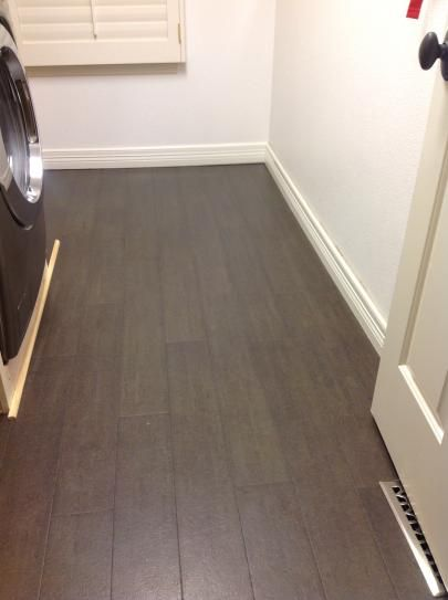 Heritage Mill Slate Plank Cork Floor From Home Depot