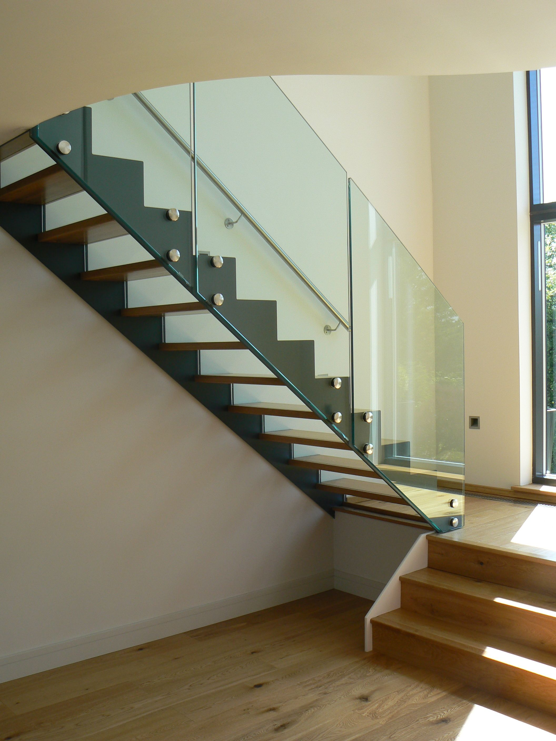 Best Modern Staircase Stair Railing Design Glass Stairs 400 x 300