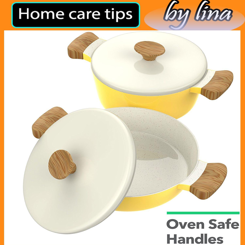 COOKWARE MADE for SERVING - Premium quality 8-piece ceramic cookware ...