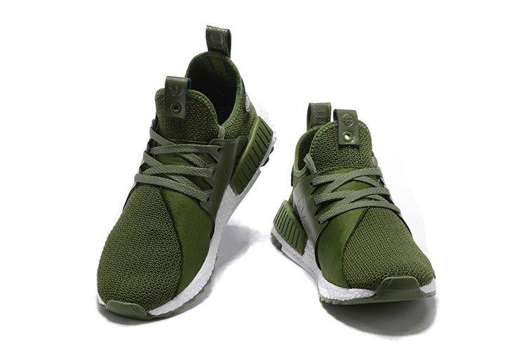 Dispuesto atención Allí  Adidas Originals NMD Runner PK III Boost Shoes Olive Green ...