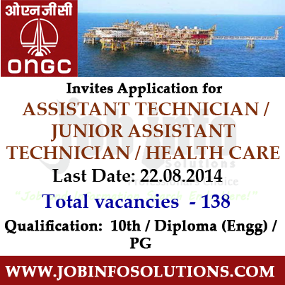 ONGC Recruitment 2014