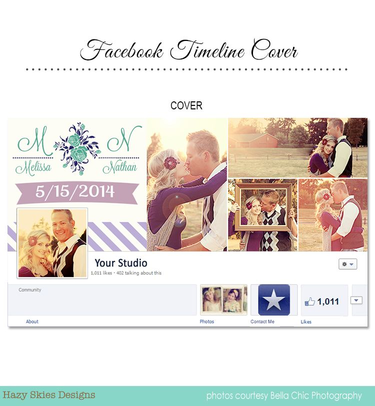 Save The Date Facebook Timeline Cover For Photographers Save The Date Template Photoshop Psd Ph Facebook Timeline Covers Timeline Covers Facebook Timeline