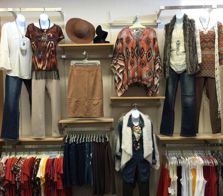 Retail Clothing Wall Display