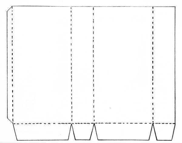 6cb84521e Pin by Rozimara Noemia Braga on Sacolas | Sacola papel kraft, Molde ...