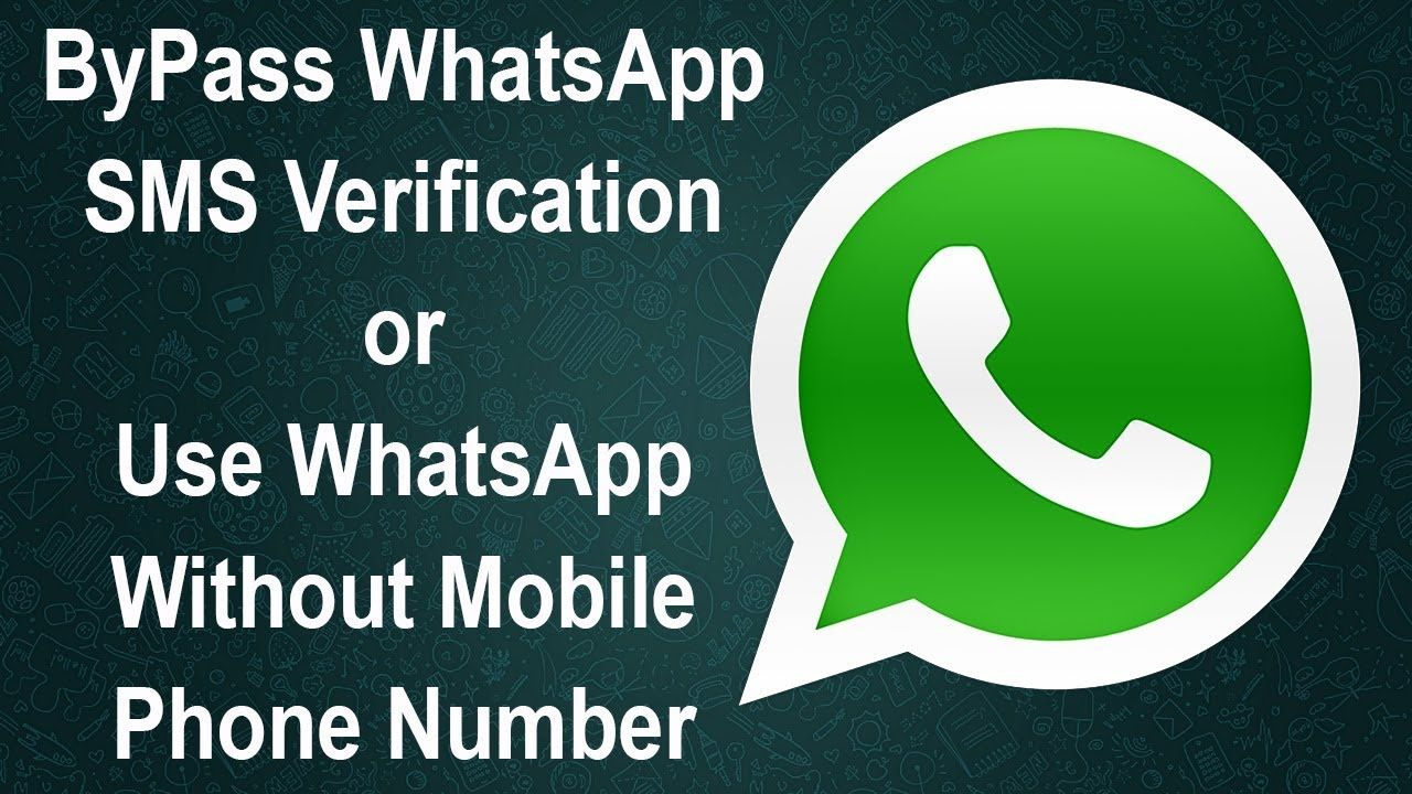 How to Use WhatsApp without Sim Number 2017 Latest