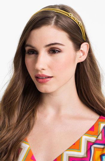 Women's L. Erickson 'Small Bits' Headband - Yellow