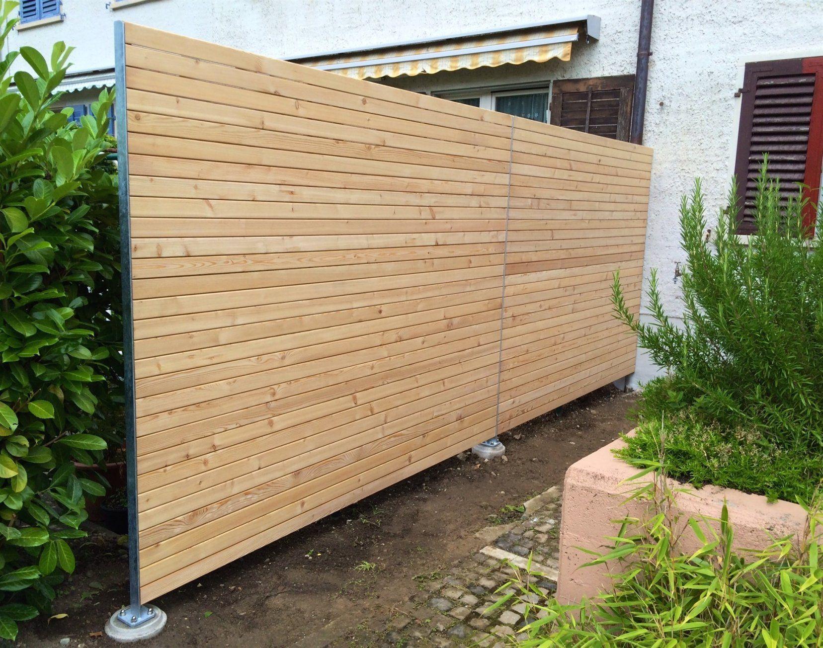 Moderne Garten Sichtschut Schone Holz Garten Sichtschutz Ideen Von