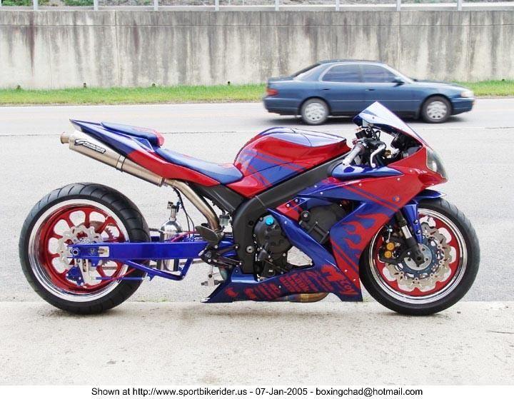 mccoy motorsports custom 2004 yamaha r1 bikes