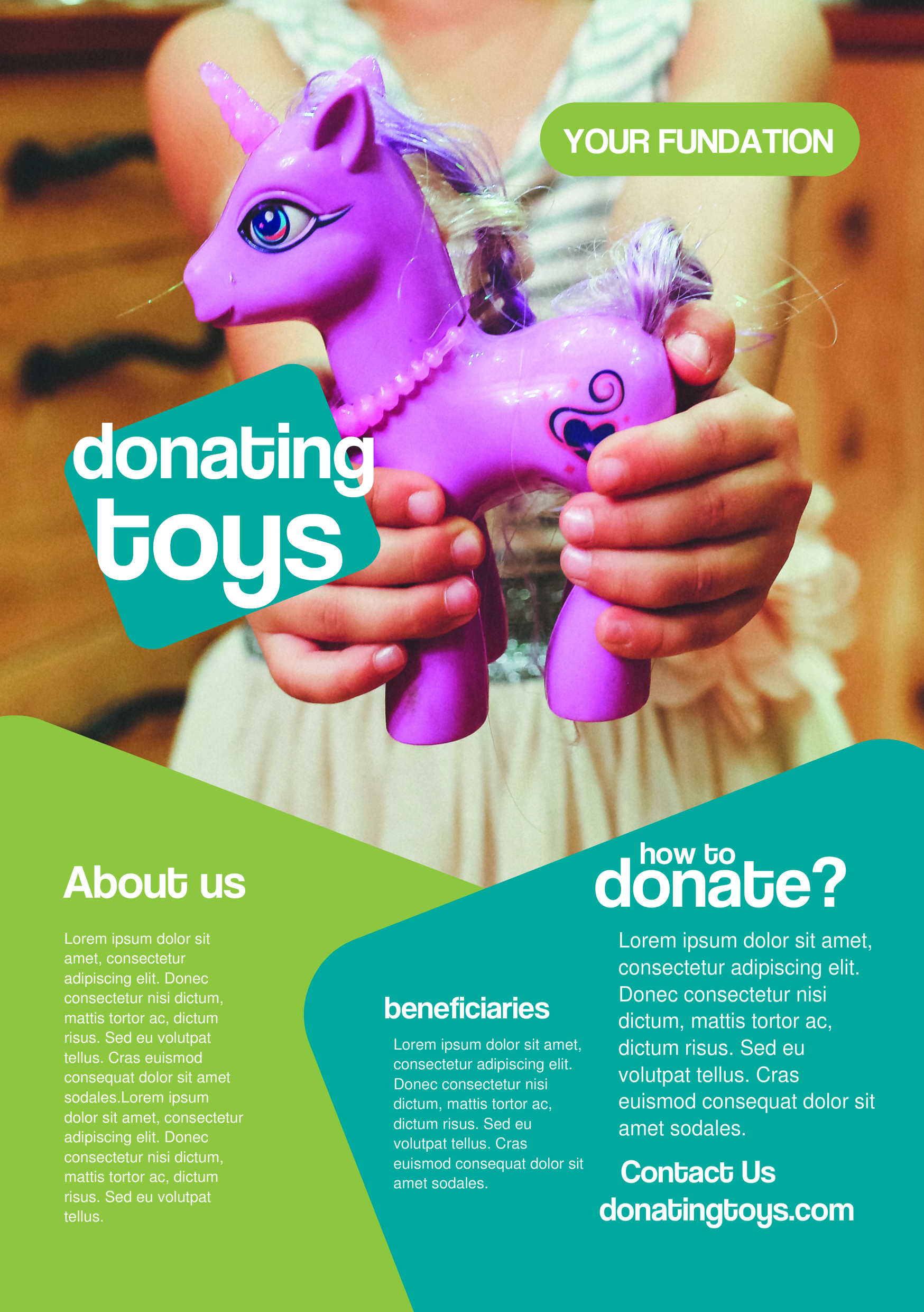 Toy Donation A Promotional Flyer HttpPremadevideosComA