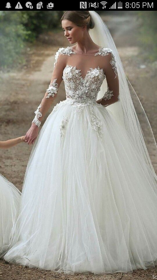 DREAMY WEDDING GOWN | wedding | Pinterest | Prinzessinnen ...