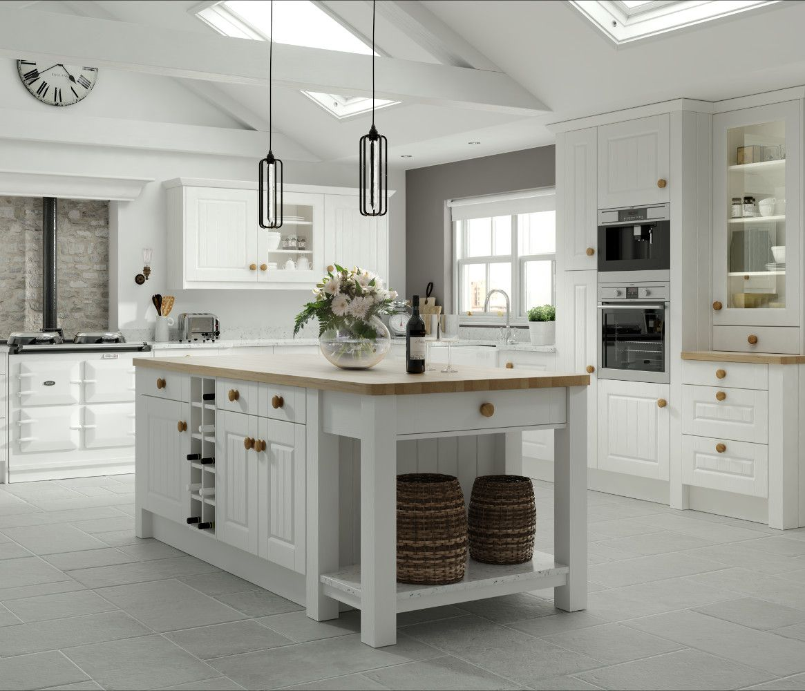 Kitchen Furniture Direct Amalfi Legno White An Ethos Kitchen From The Choose Style Range
