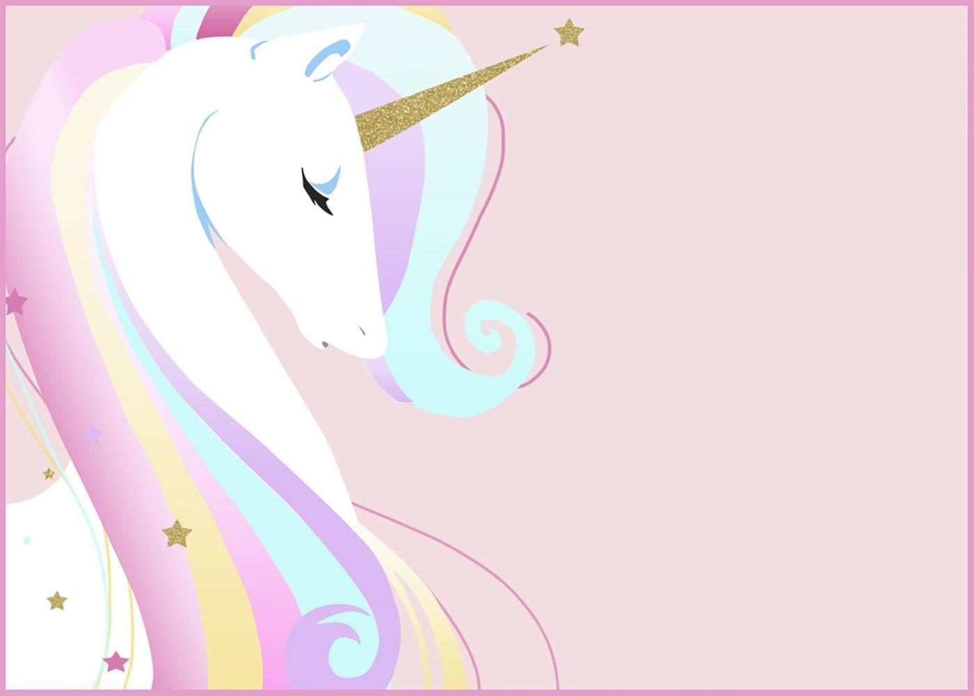 Unicorn Invitation Card Unicorn Invitations Unicorn Birthday