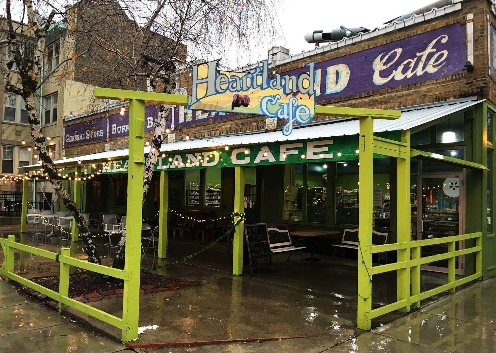 Heartland Cafe, Rogers Park, Chicago Chicago food, Cafe