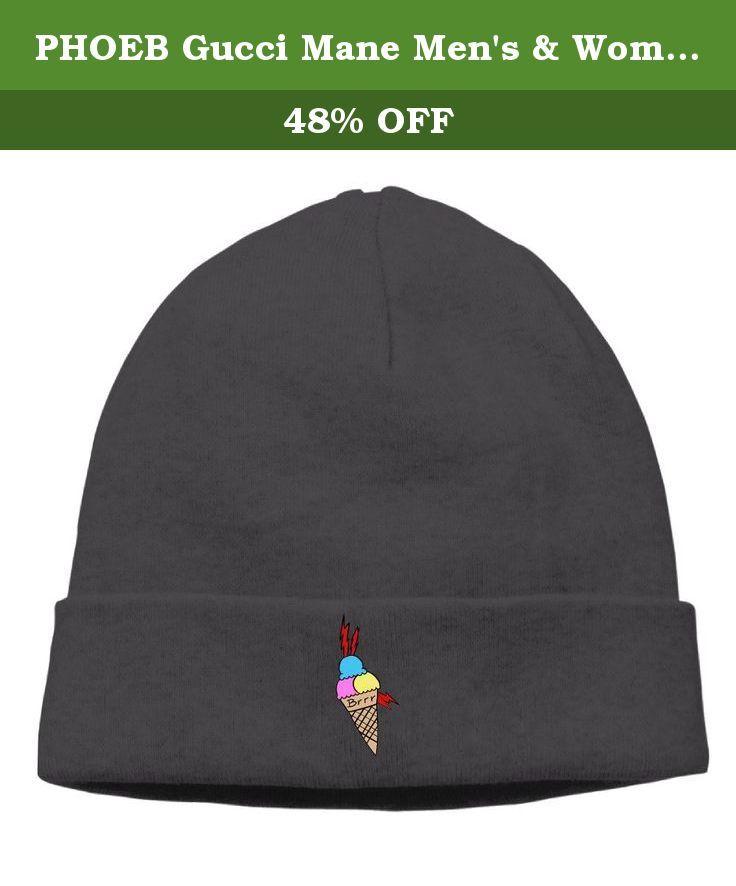 PHOEB Gucci Mane Men s   Women s Beanie Cap Hat Ski Hat Caps Skull Cap  Black. 08eb3afe6da