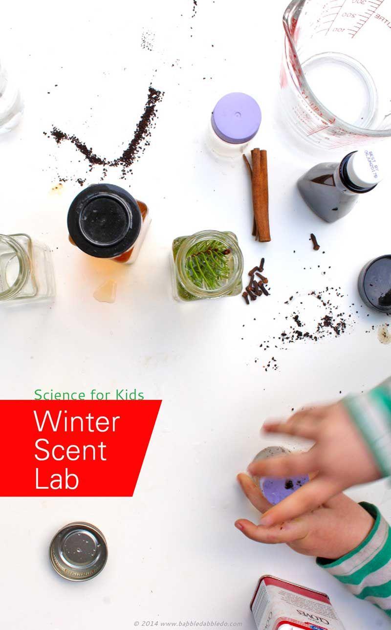 Easy science for kids winter scent lab preschool activities