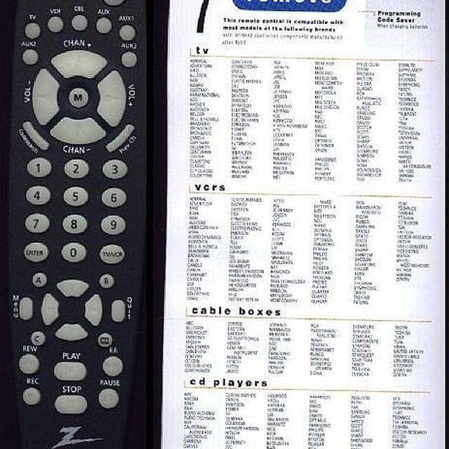 how to program a zenith universal remote control a ha pinterest rh pinterest com zenith zp505 universal remote control codes Zenith TV Remote Control Codes