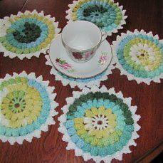 Set+of+5+Gift-+coasters+cup+from+DashaVikta+by+DaWanda.com
