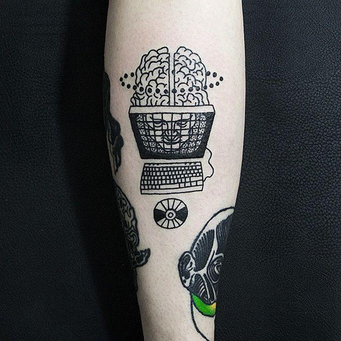 Resultado De Imagem Para Tattoo Computer
