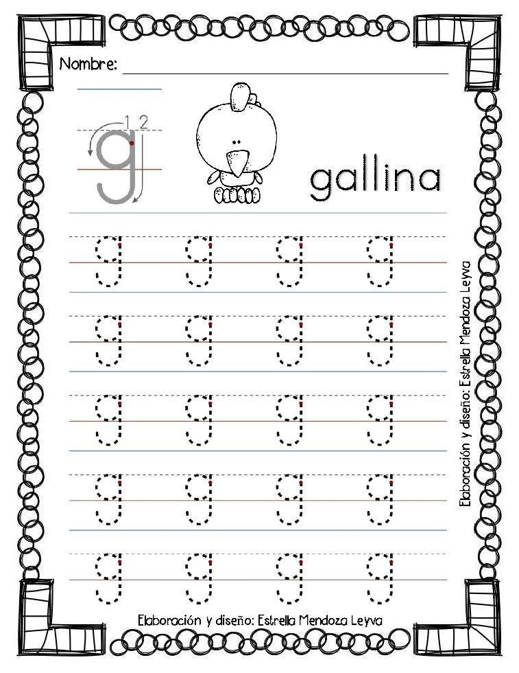 Pin By Lina Paola Pacheco Vega On Letras Pinterest Worksheets