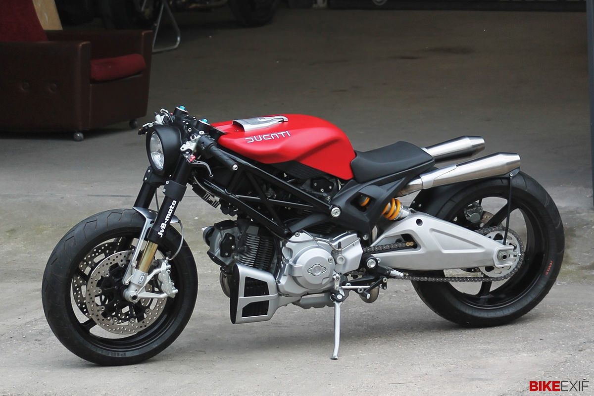 Top 10 Custom Motorcycles Of 2013 Ducati Monster 1100