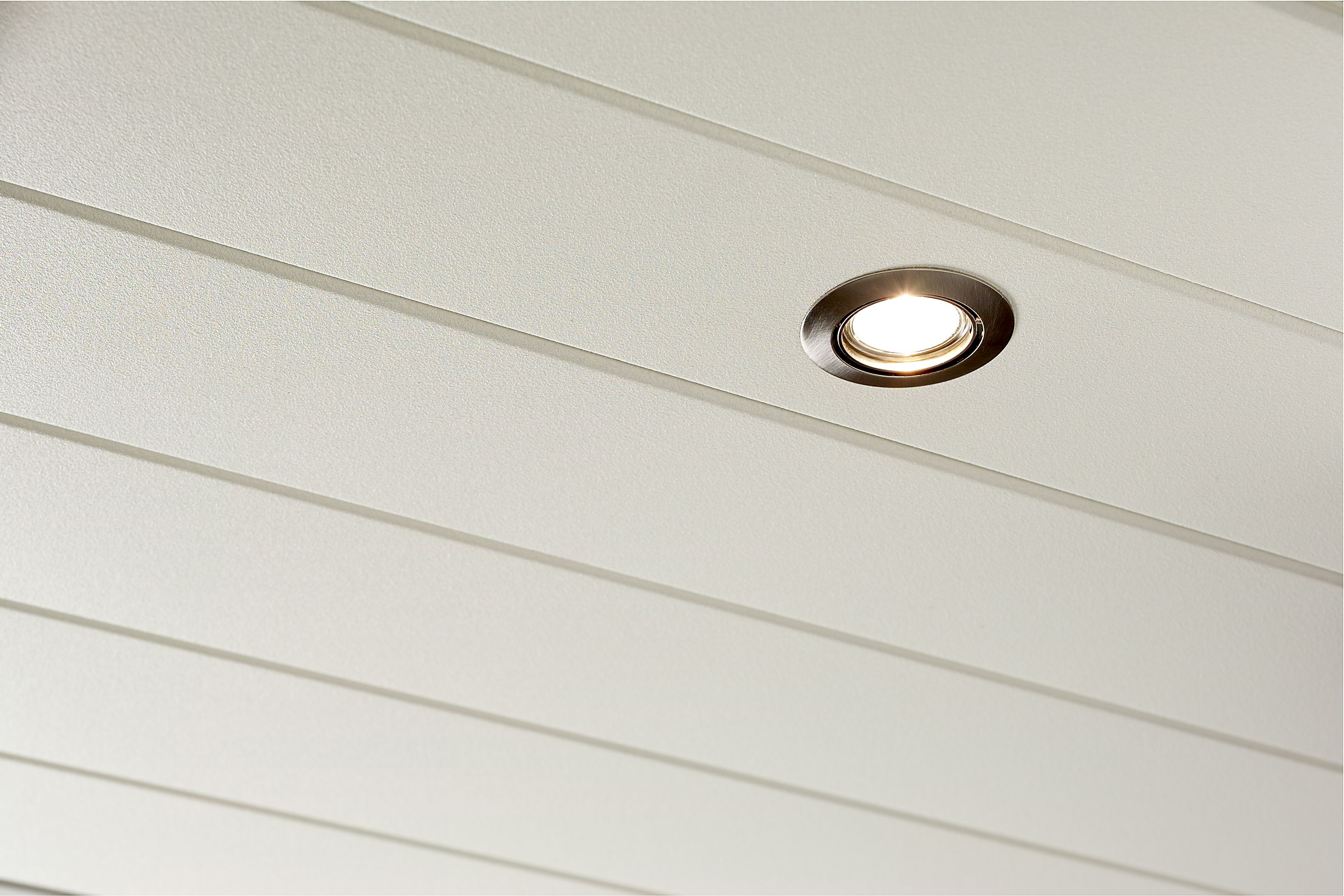 Aluminium Luxalon badkamer plafond met ingebouwde (LED)-verlichting ...