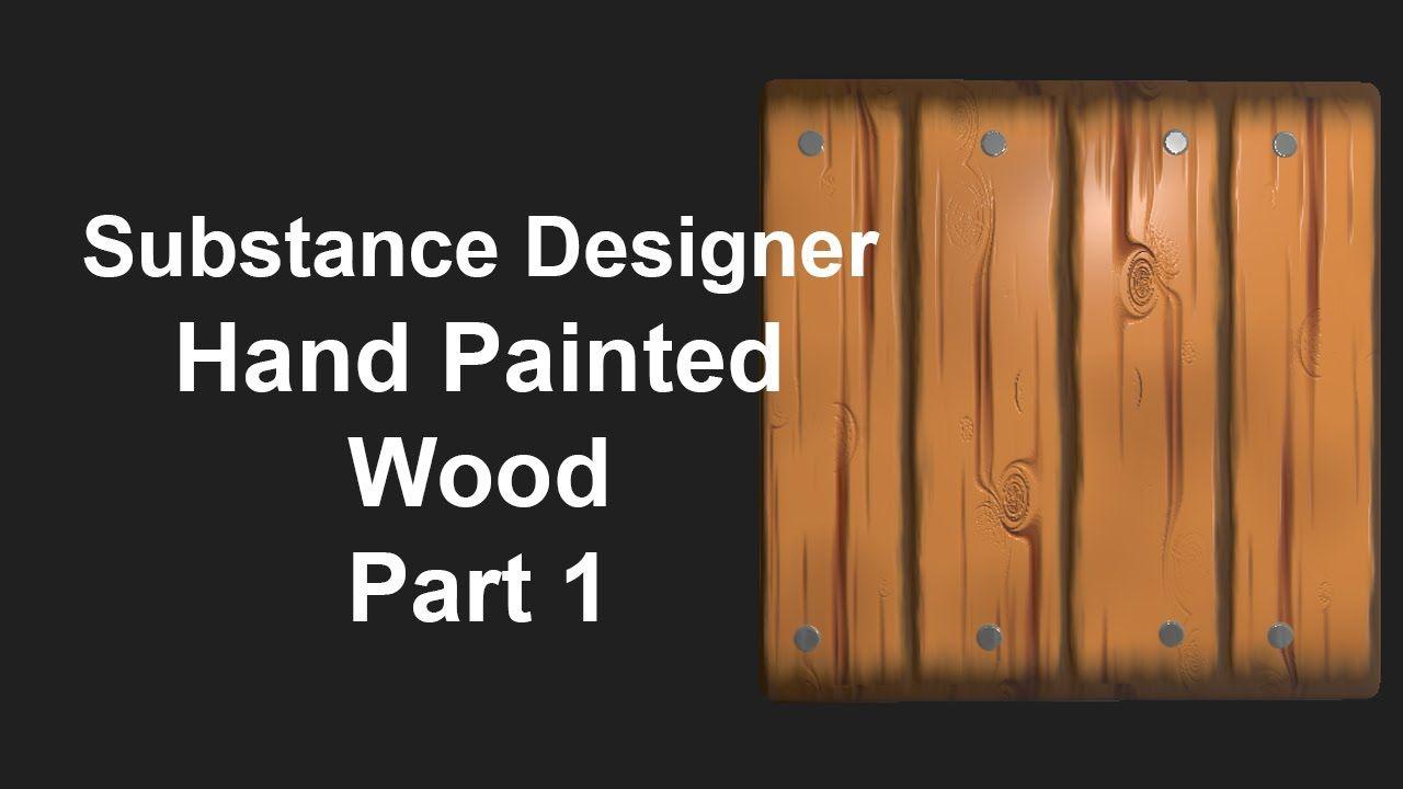 Painted Wood Substance Designer Tutorial