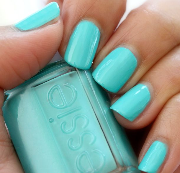 Essie -- In The Cab-ana | via Makeup and Beauty Blog | Nail Art ...