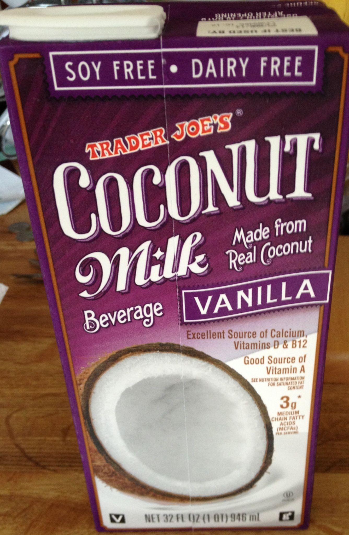 Trader Joe's Coconut milk is the best!